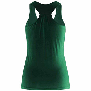 "Yoga-Top ""FINA"", ivy green - Supersoft Active Top made of bamboo viscose"