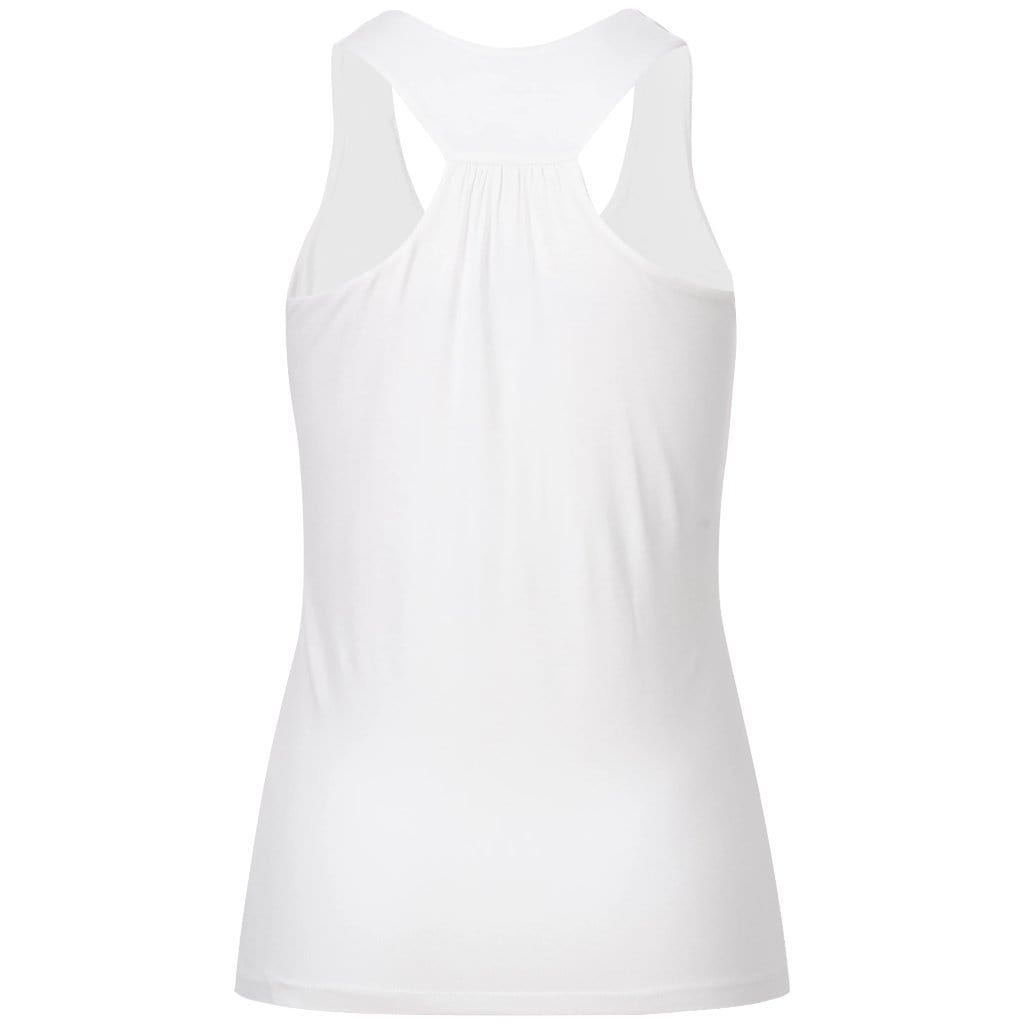 "Yoga-Top ""FINA"", white - Superweiches Active-Top aus Viskose (Bambus) - Kamah Yoga and Style"