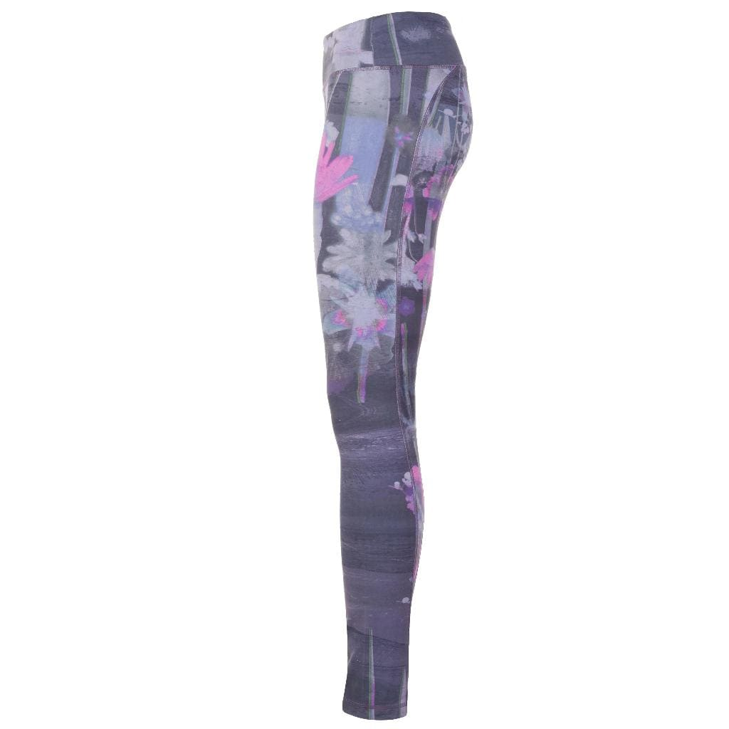 "Yoga-Leggings ""Panarea"", Mystique - Figurbetonte Active Tights mit Allover Print - Kamah Yoga and Style"