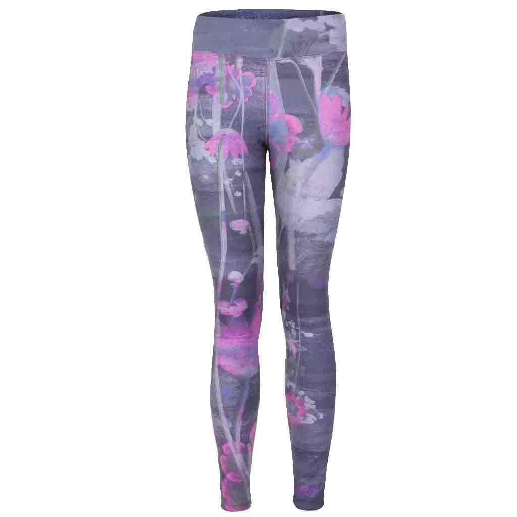"Yoga Legging ""Panarea"", Mystique-Figurstressed Active Tights with Allover Print"