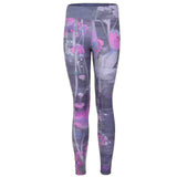 "Yoga Legging ""Panarea"", Mystique - Figurbetonte Active Tights mit Allover Print"
