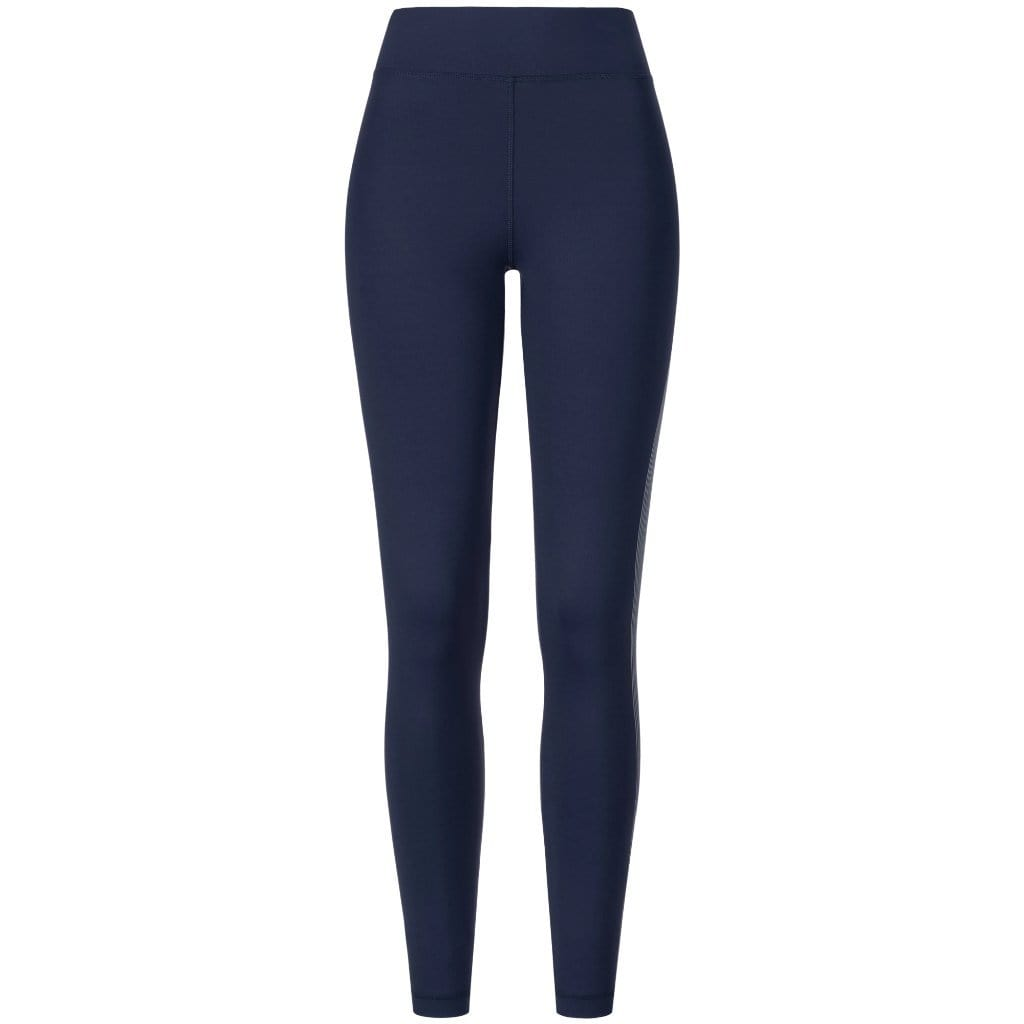 "Yoga-Leggings ""Tyra"", nightblue - Active Tights mit Print - Kamah Yoga and Style"