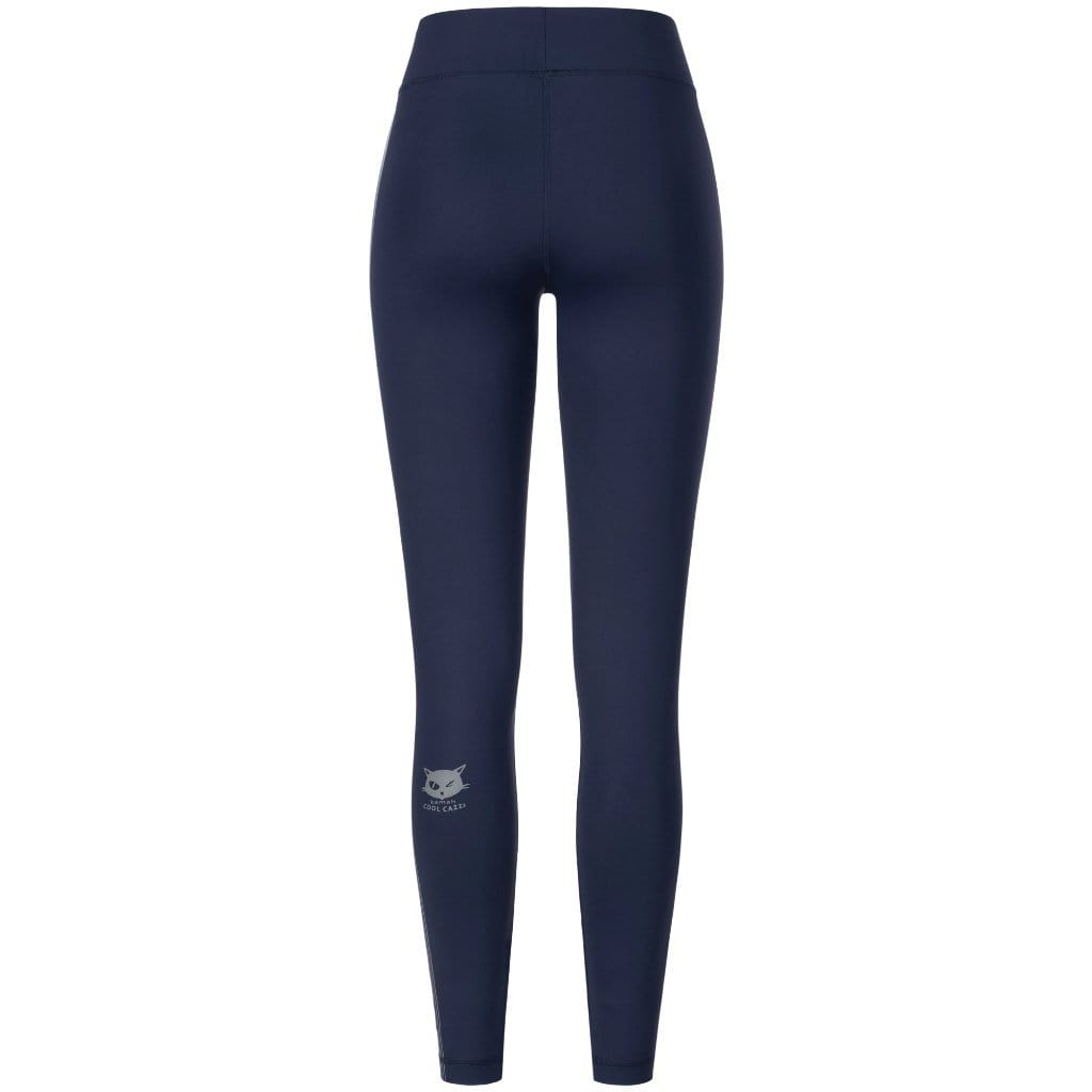"Yoga Legging ""Tyra"", nightblue - Active Tights mit Print - Kamah Yoga and Style"