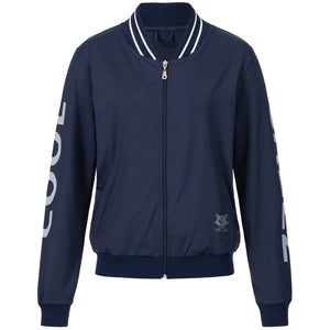 POOJA nightblue, Zipperjacke Front