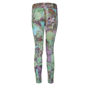 "PANAREA - Leggings, Farbe: Allover Print ""City Bloom"" - Kamah Yoga and Style"