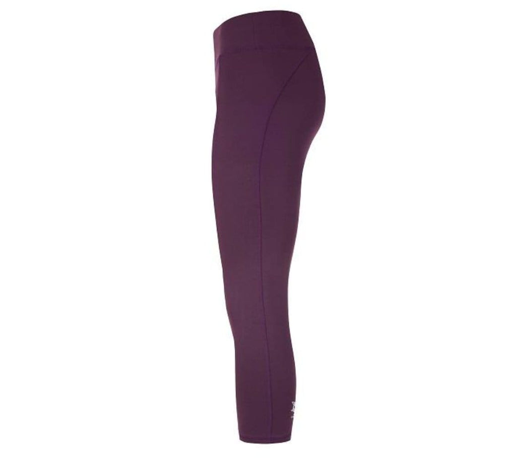 POLLY - active Capri Pants, Farbe: red purple - Kamah Yoga and Style