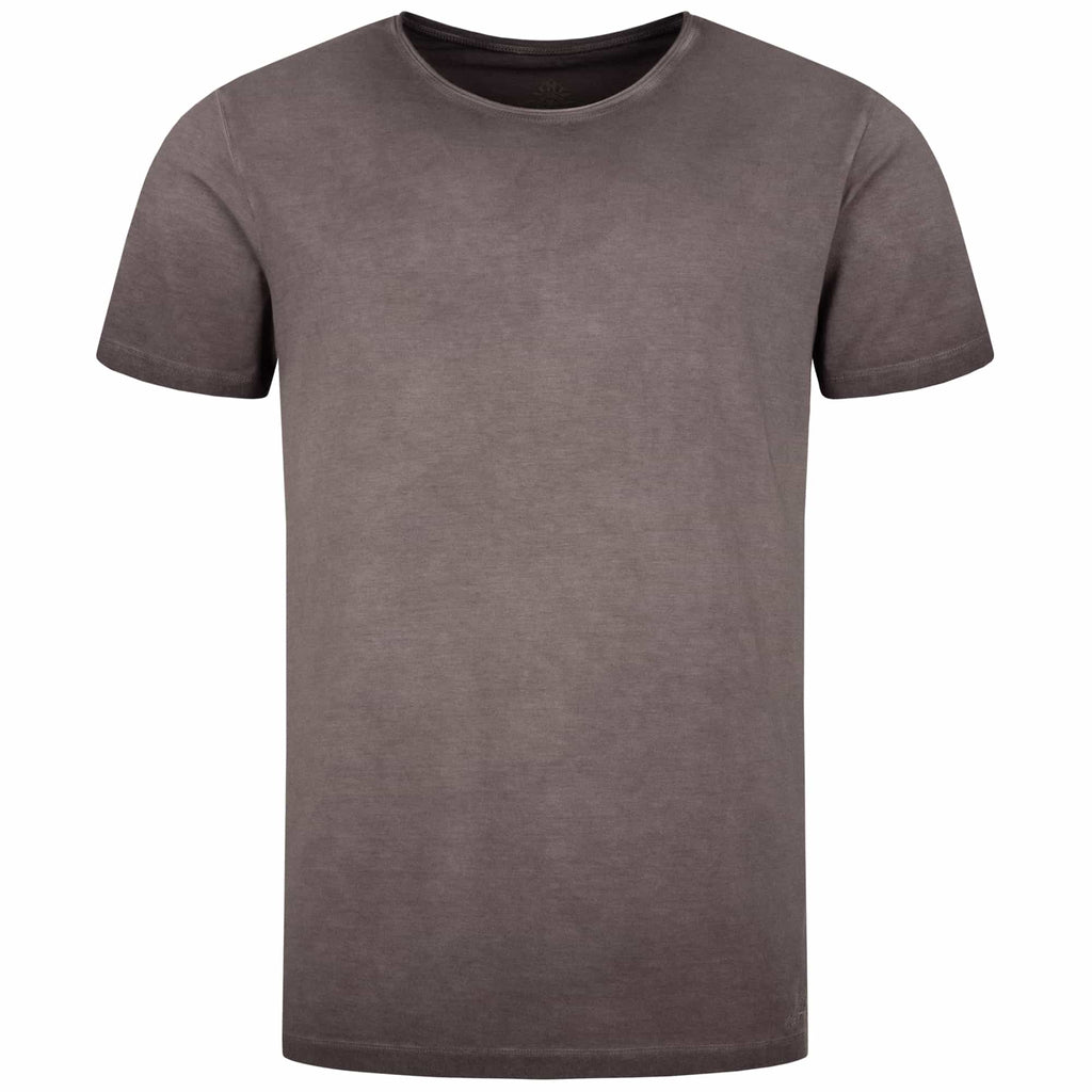 "Lounge-Shirt ""Sabu"", shale – Lässiges Basic Herren - Shirt"
