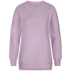 "Sweater ""Tiffany"", pale violet - Kuscheliges oversized Sweatshirt"