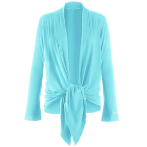 "Jacke ""Tootsie"", heaven - Supersofte Wickeljacke - Kamah Yoga and Style"
