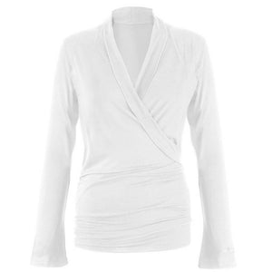 "Supersofte Wickeljacke ""Tootsie"" in white"