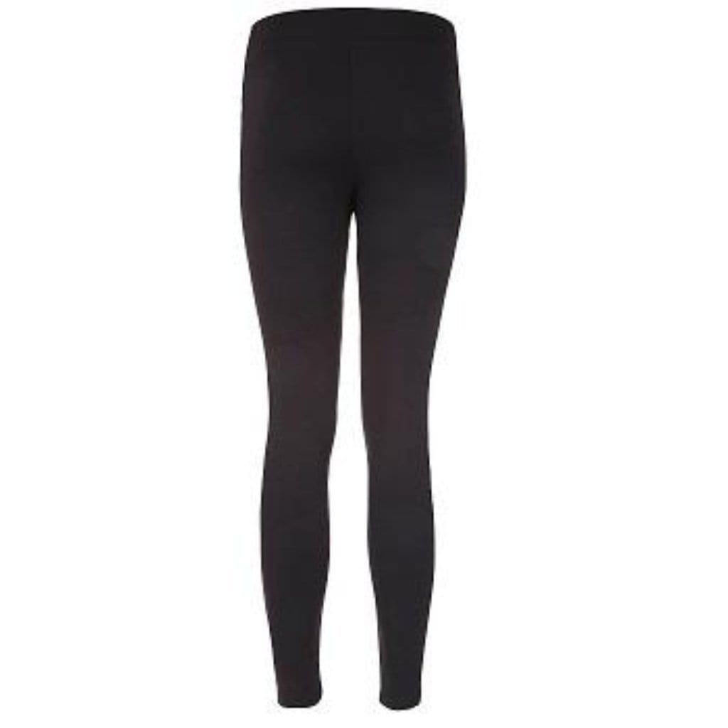 "Yoga Legging ""Tyra"", black - Active Tights mit Print - Kamah Yoga and Style"