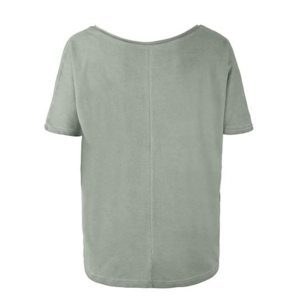 "Yoga-Shirt ""Ulani"", reed - Weit geschnittenes Lounge-Shirt - Kamah Yoga and Style"