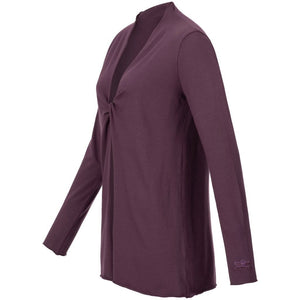 "Jacke ""VERENA"", red purple – Extravagante Tunika - Kamah Yoga and Style"