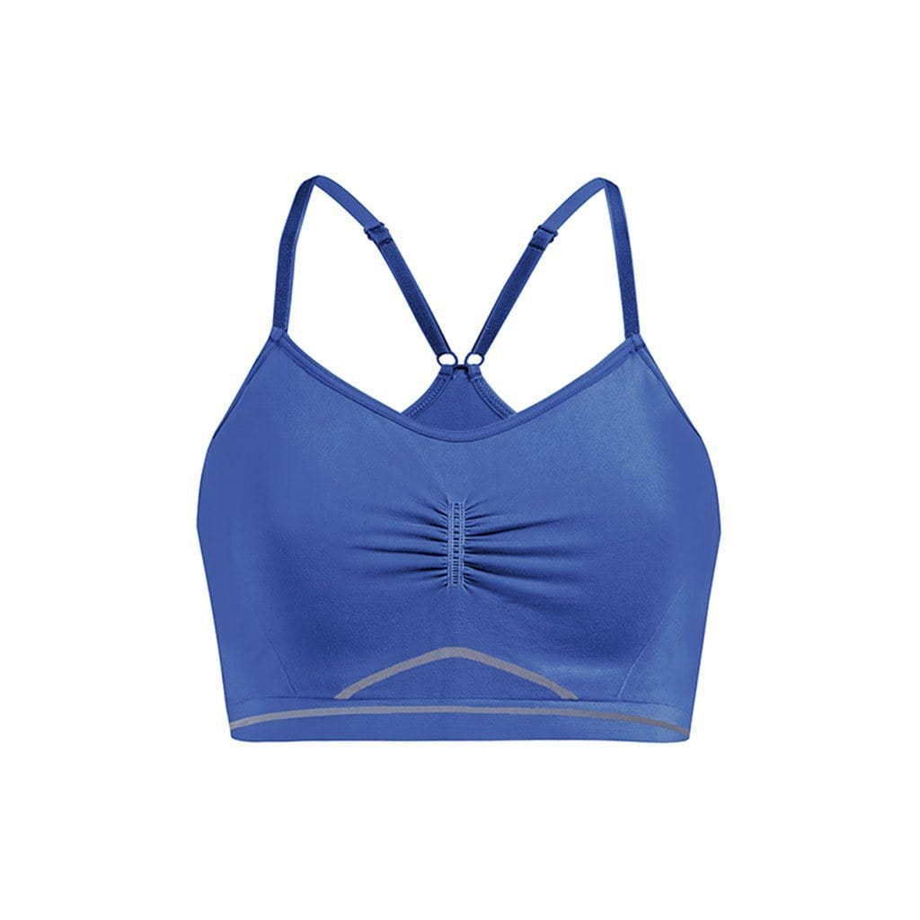 "Yoga-Top ""Ines"", mediterraneo - Active Bra mit verstellbaren Trägern - Kamah Yoga and Style"