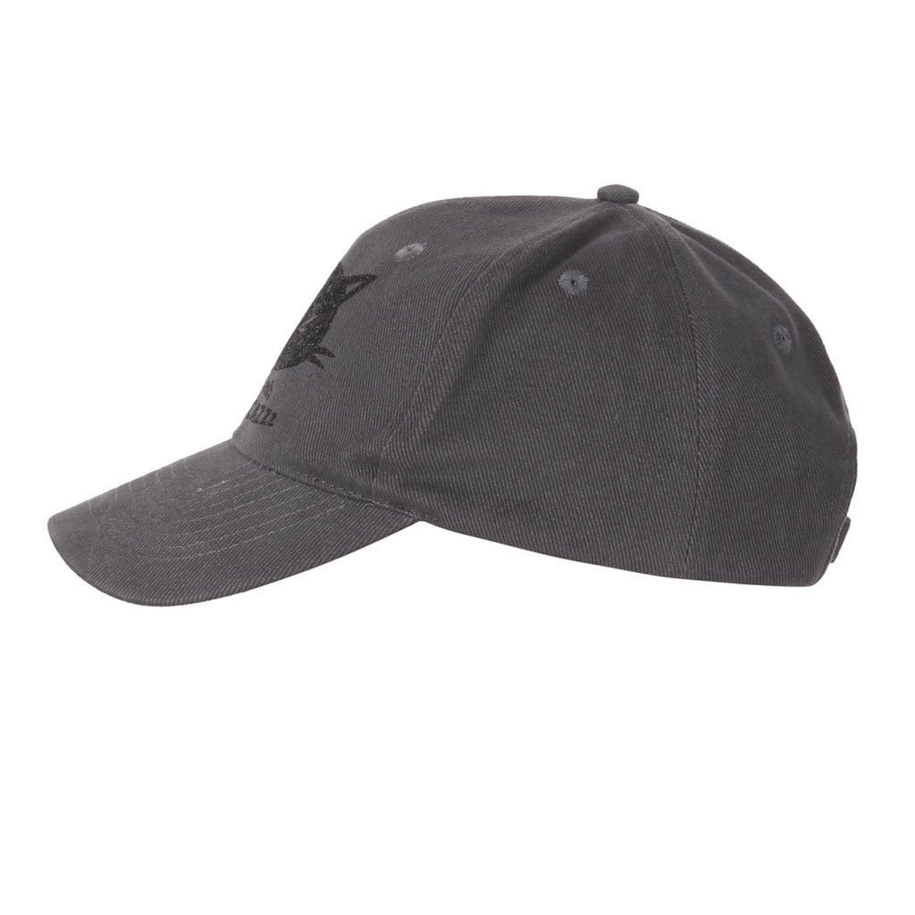 "Cap ""Tim"", black - Baseball Cap mit Logo - Print - Kamah Yoga and Style"