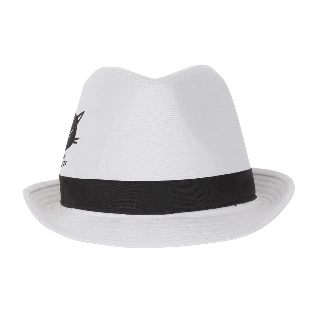 TOTO - Fedora Hut, white/black - Kamah Yoga and Style