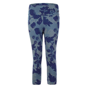 "PARIS, 3/4 Hose, Farbe: Allover Print ""Camouflowers"" - Kamah Yoga and Style"