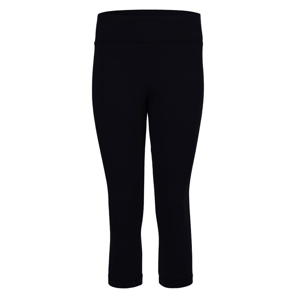 "Yoga-Leggings ""Lissy"", charcoal - Superactive Capri Leggings - Kamah Yoga and Style"