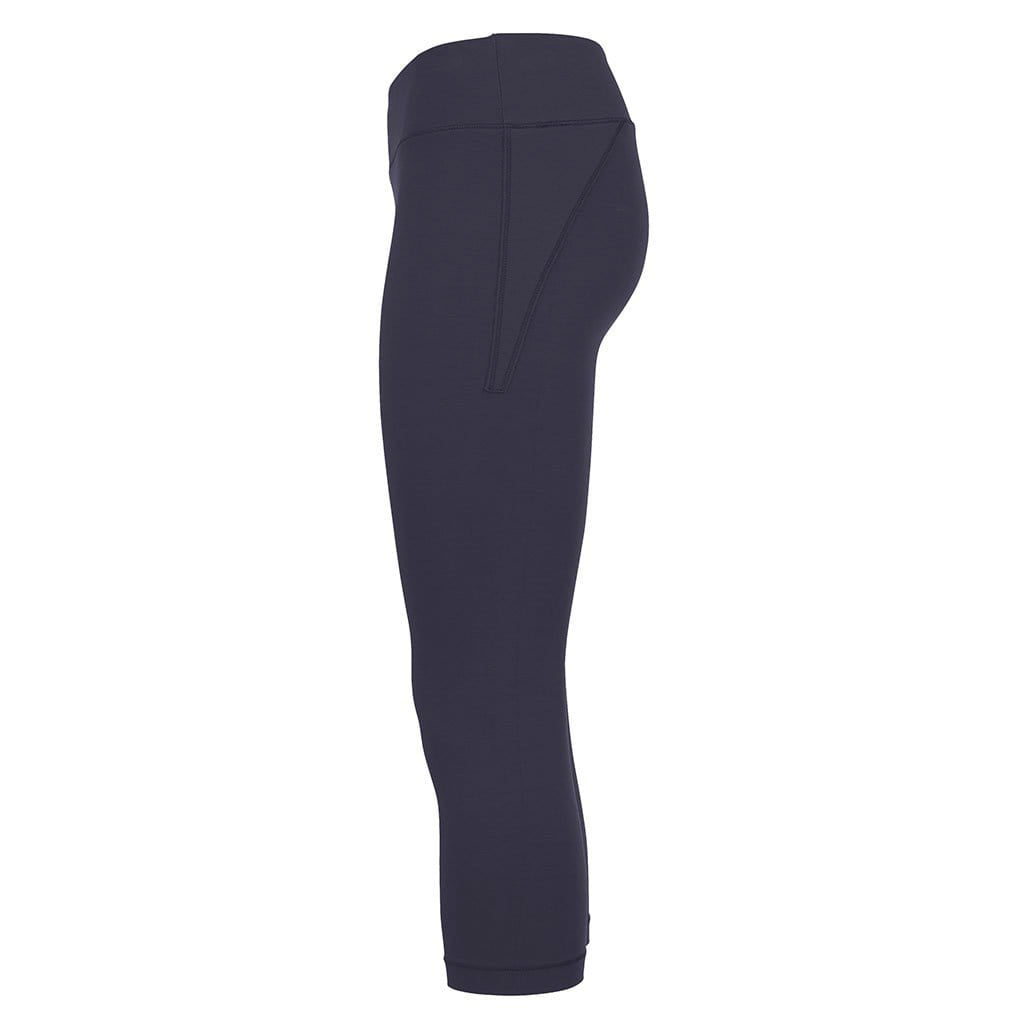 "Yoga Leggings ""Lissy"", Nachtblau - Superactive Capri Leggings"
