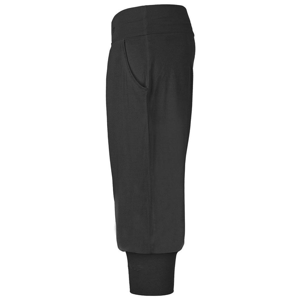 "Superbequeme 3/4 Yoga Pant ""Charlie"" in charcoal - Kamah Yoga and Style"