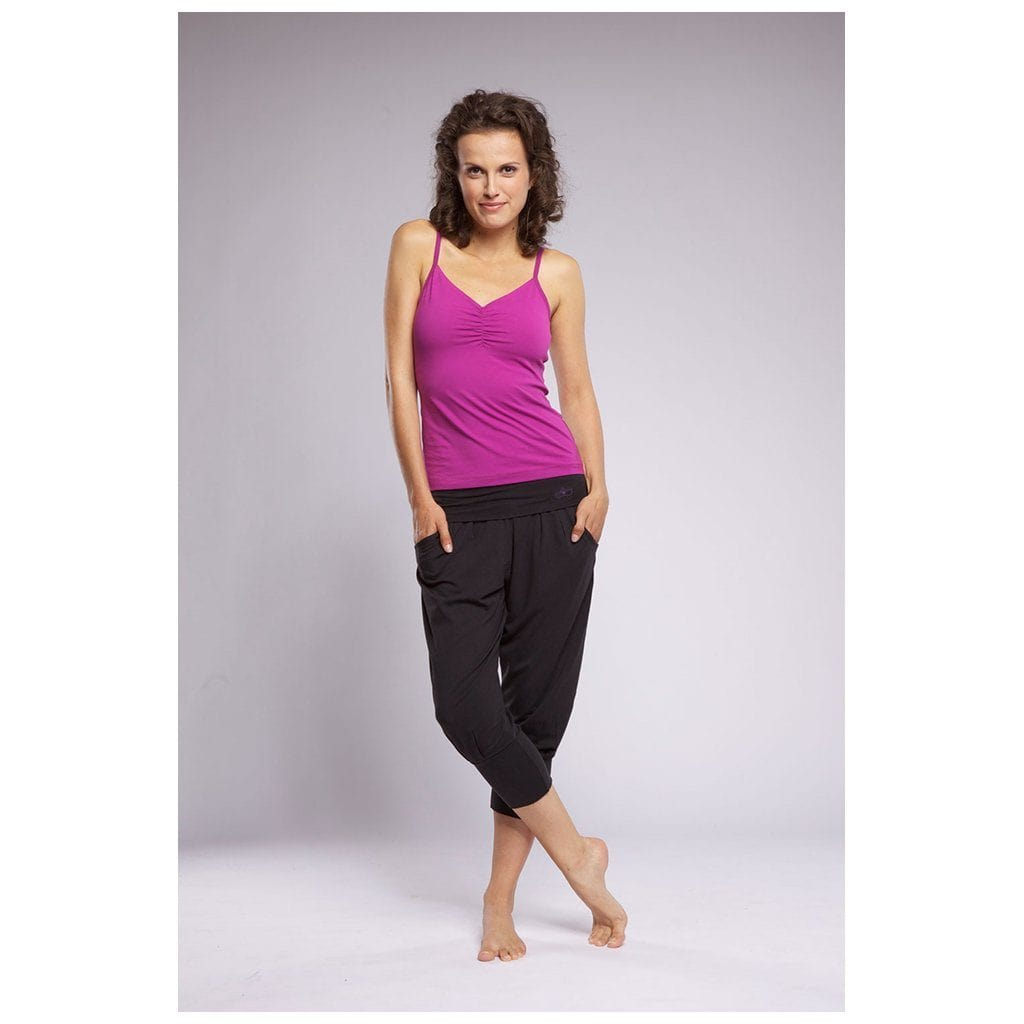 CHARLIE - 3/4-Haremshose, Farbe: charcoal - Kamah Yoga and Style