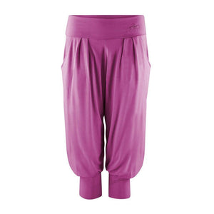 "Haremshose ""Charlie"", deep orchid - Superbequeme 3/4 Yoga-Pant - Kamah Yoga and Style"