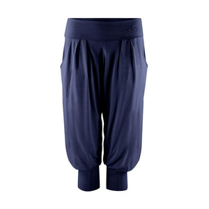 "Haremshose ""Charlie"", nightblue - Superbequeme 3/4 Yoga-Pant - Kamah Yoga and Style"