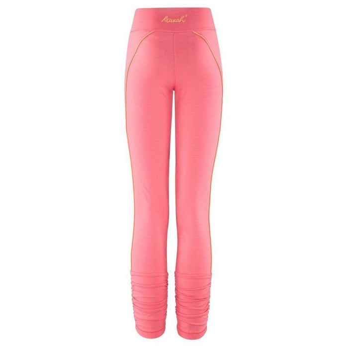 Tights - 3/4 Sport Legging - HAYA in coral - Kamah Yoga and Style
