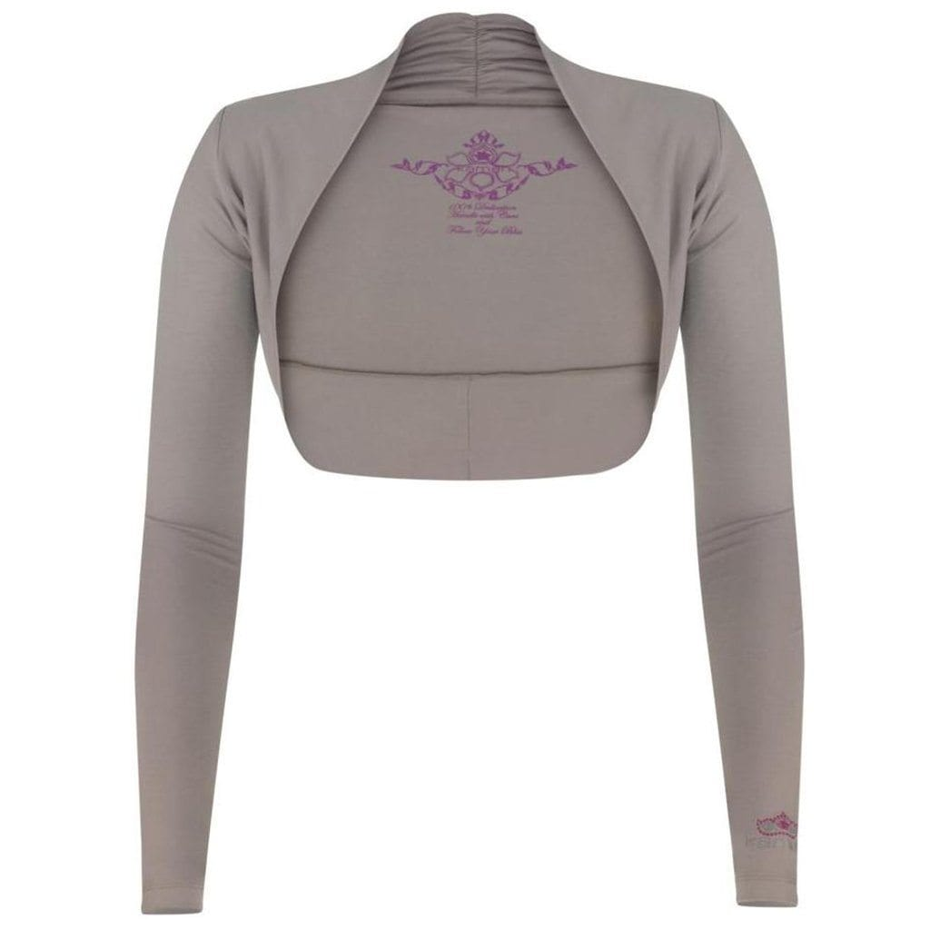 "Jacke ""Isabel"", frappé - Supersofte Bolerojacke - Kamah Yoga and Style"