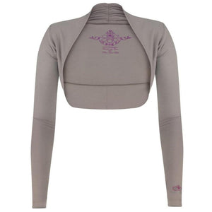 "Super soft ""Isabel"" bolero jacket in frappé - perfect before after yoga - Kamah Yoga and Style"