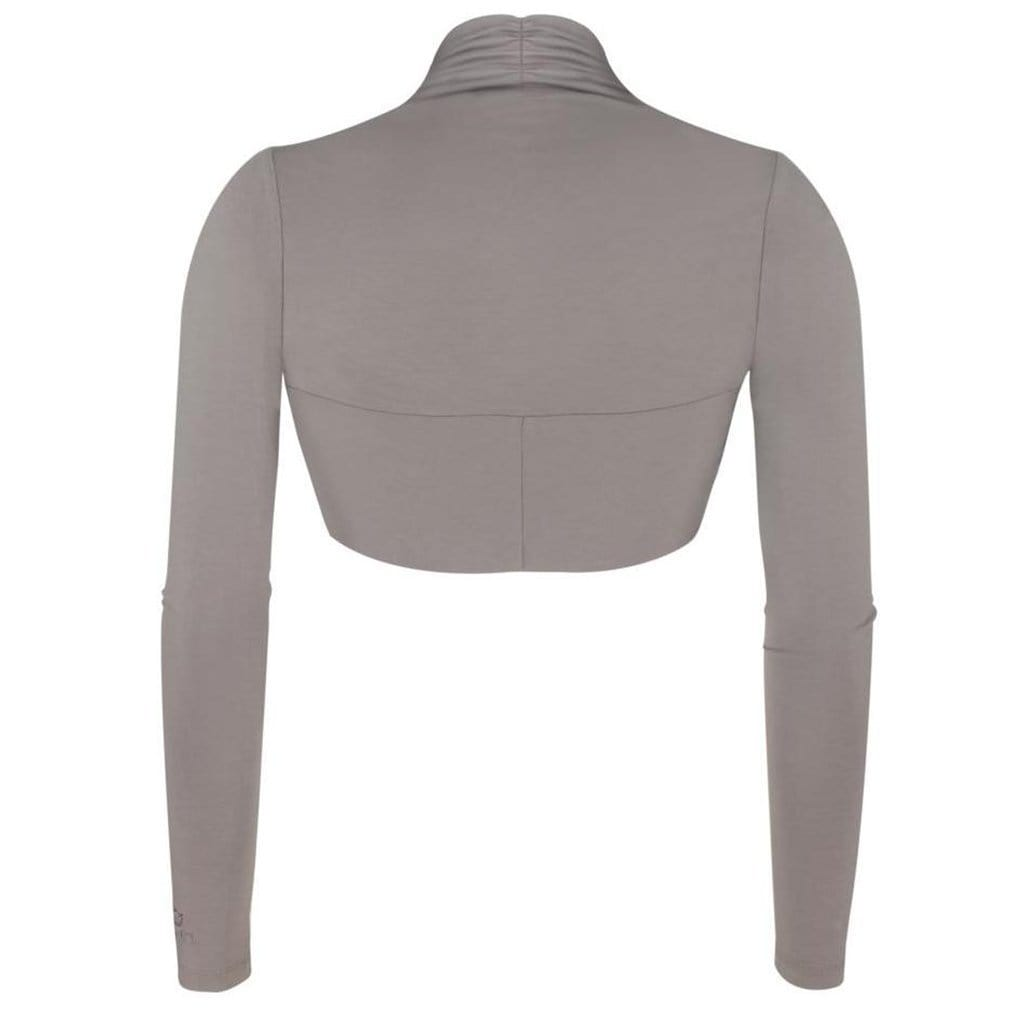 "Supersofte Bolerojacke ""Isabel"" in frappé - perfekt vor nach Yoga - Kamah Yoga and Style"