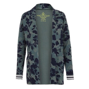 "MINA, Jacke, Allover print ""Camouflowers"" - Kamah Yoga and Style"