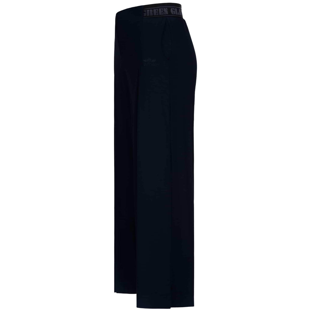 "Culotte, weite Hose ""Wanda"", charcoal - variable 3/4 Yoga-Pant - Kamah Yoga and Style"