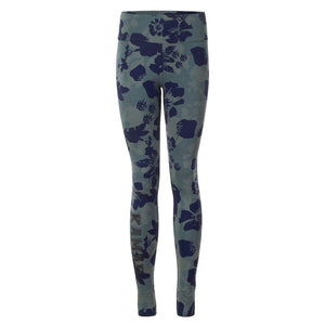 "GOPA, Leggings, Allover-Print ""Camouflowers"" - Kamah Yoga and Style"