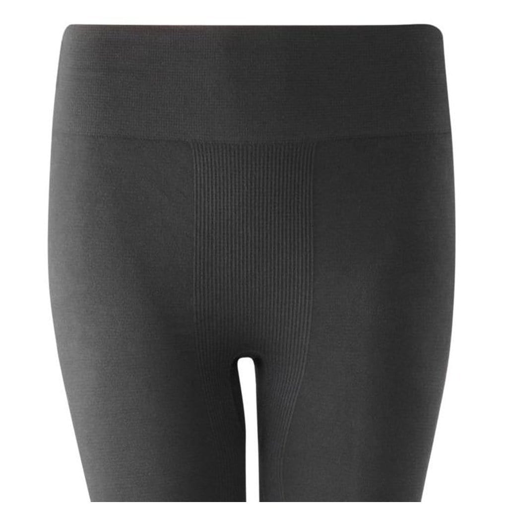 "Yoga Leggings ""Liane"" - Supersofte Active Tights aus Bambus, Farbe: black - Kamah Yoga and Style"