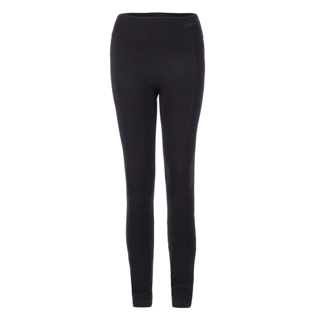 "Yoga Leggings ""Lily"", charcoal - Perfekte Active Tights - Kamah Yoga and Style"