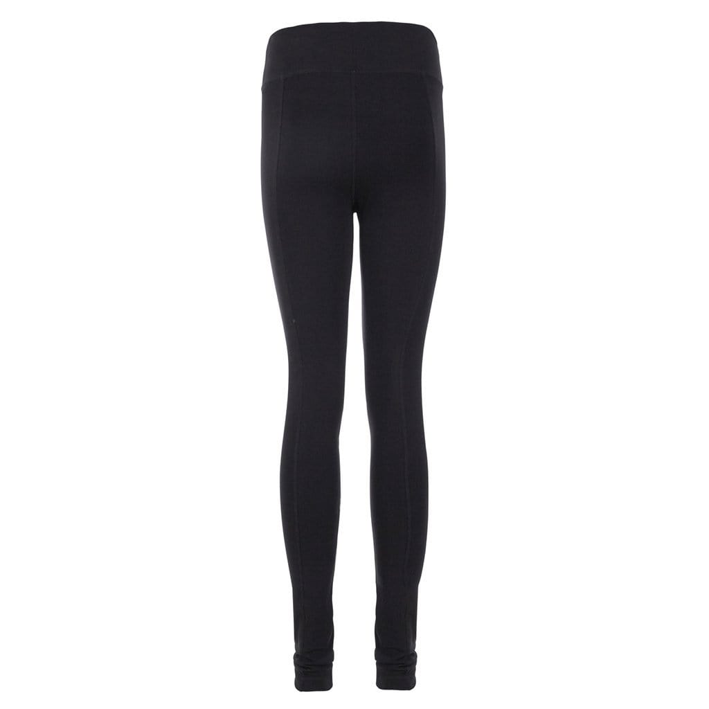 "Yoga-Leggings ""Lily"", charcoal - Perfekte Active Tights - Kamah Yoga and Style"