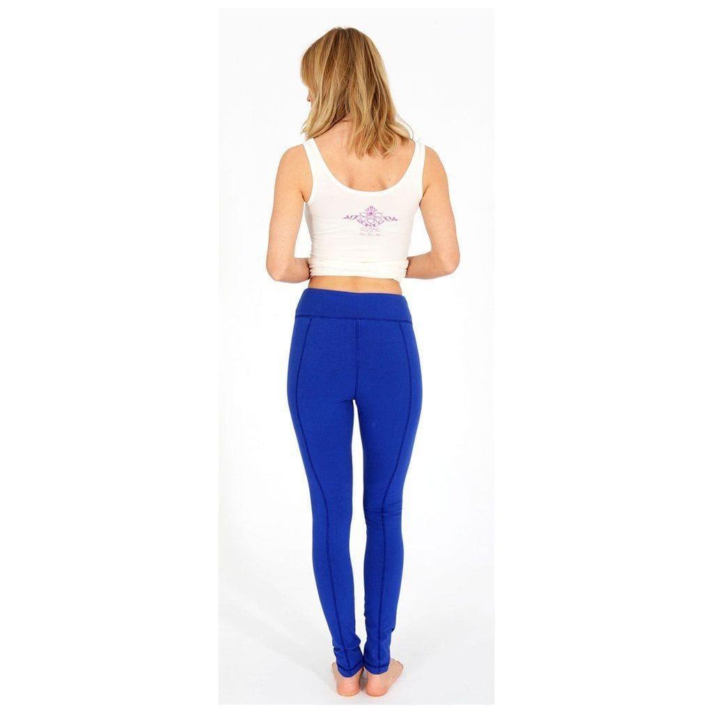 "Yoga-Leggings ""Lily"", mediterraneo - Perfekte Active Tights - Kamah Yoga and Style"