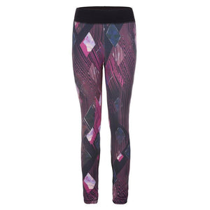 "Yoga Legging ""Pandora"", Diamond - Active Leggings mit Allover-Print - Kamah Yoga and Style"