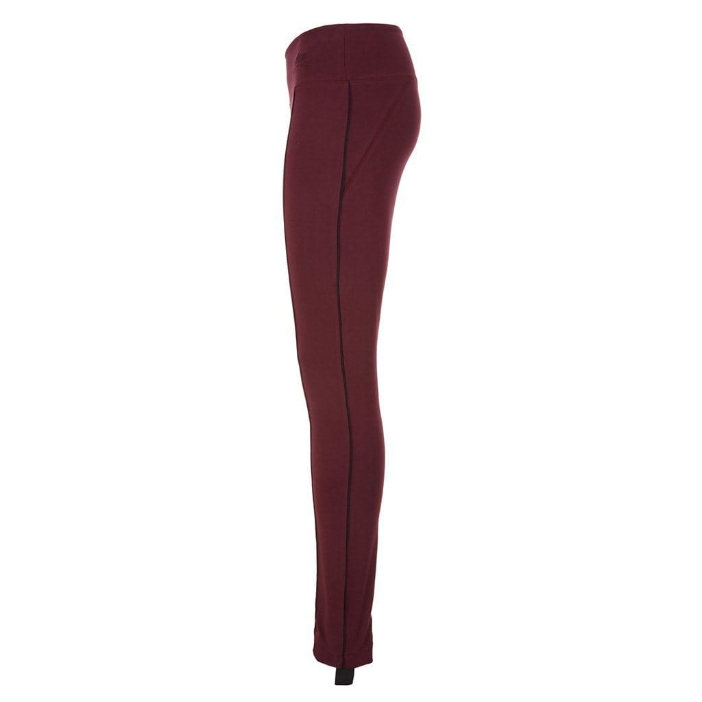 "Yoga Legging ""Radha"", port royale - Yoga pants with step - Kamah Yoga and Style"