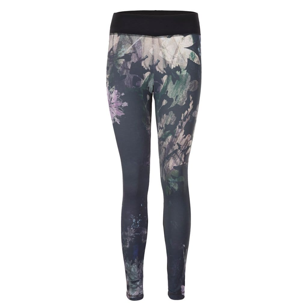 "Yoga-Leggings ""Pandora"", Shang Li - Active Leggings mit Allover-Print - Kamah Yoga and Style"