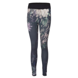 "Yogahose ""Pandora"", Shang Li - Active Leggings mit Allover-Print - Kamah Yoga and Style"