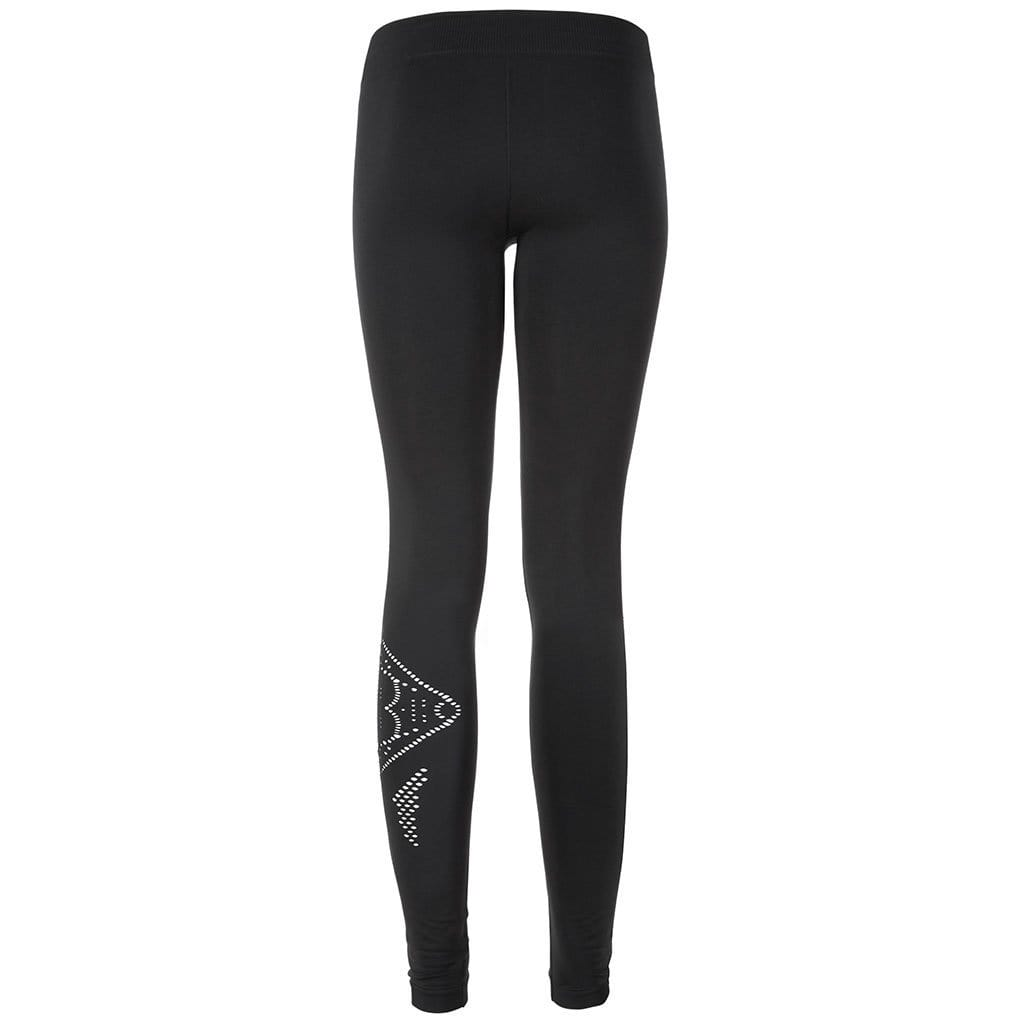 "Yoga Legging ""Safira"", black - Figurformende Active Leggings - Kamah Yoga and Style"