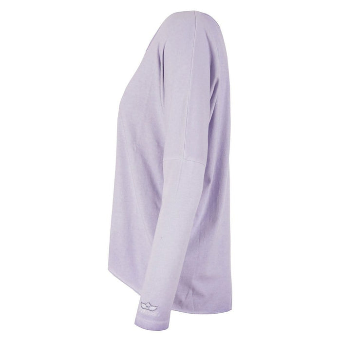 MELODY, Longsleeve, pale violet - Kamah Yoga and Style