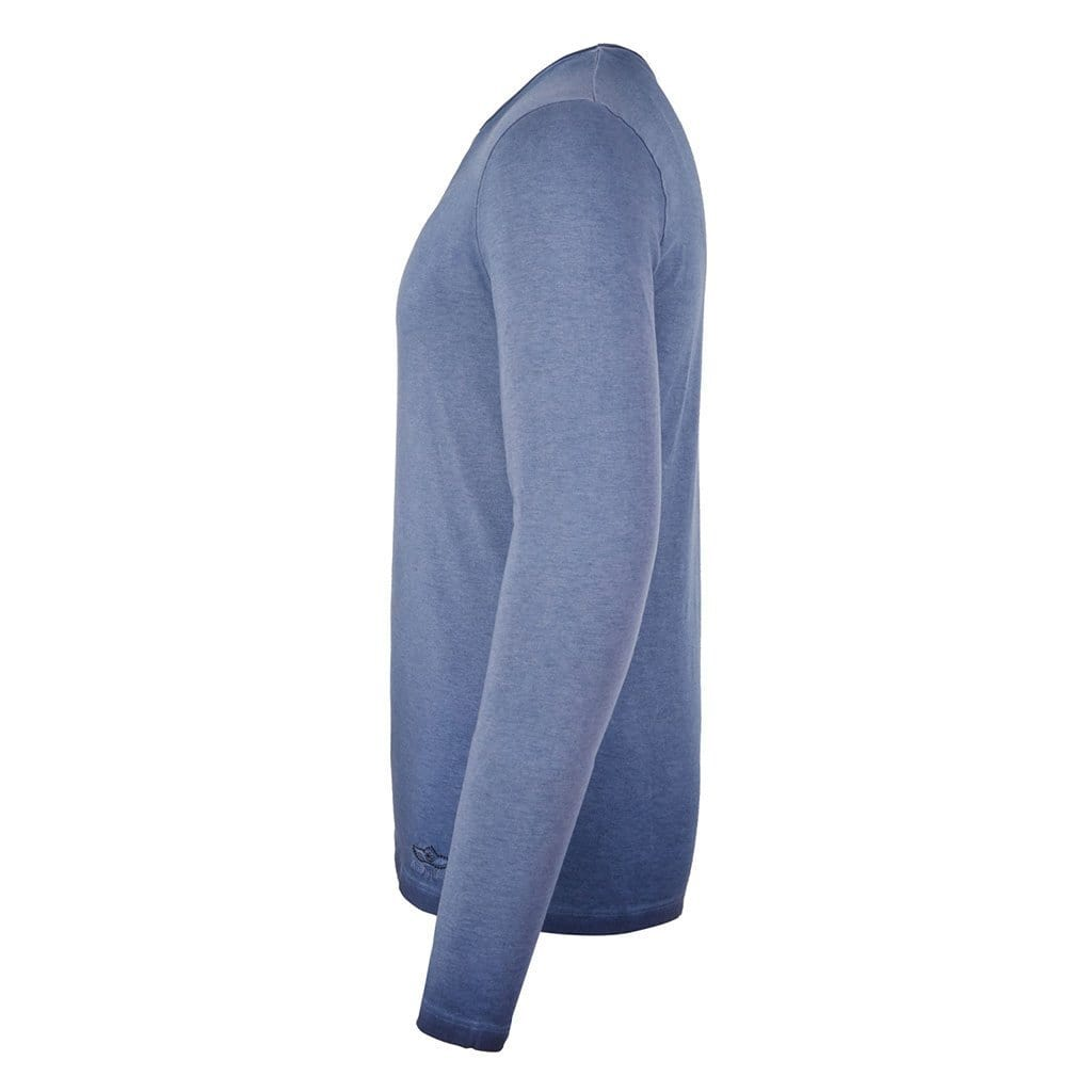 SIMON - Longsleeve, Farbe nightblue - Kamah Yoga and Style