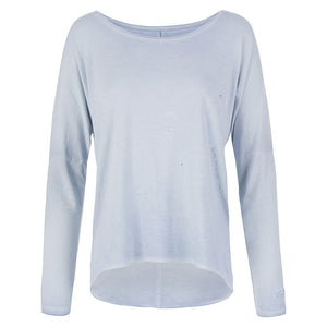 "Lounge-Shirt ""Melody"", arona - Lässiges Basic Langarmshirt - Kamah Yoga and Style"