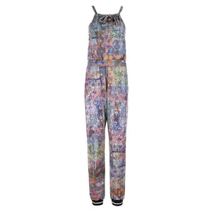 "PAMINA, Jumpsuit, Allover Print ""Flowers"" - Kamah Yoga and Style"