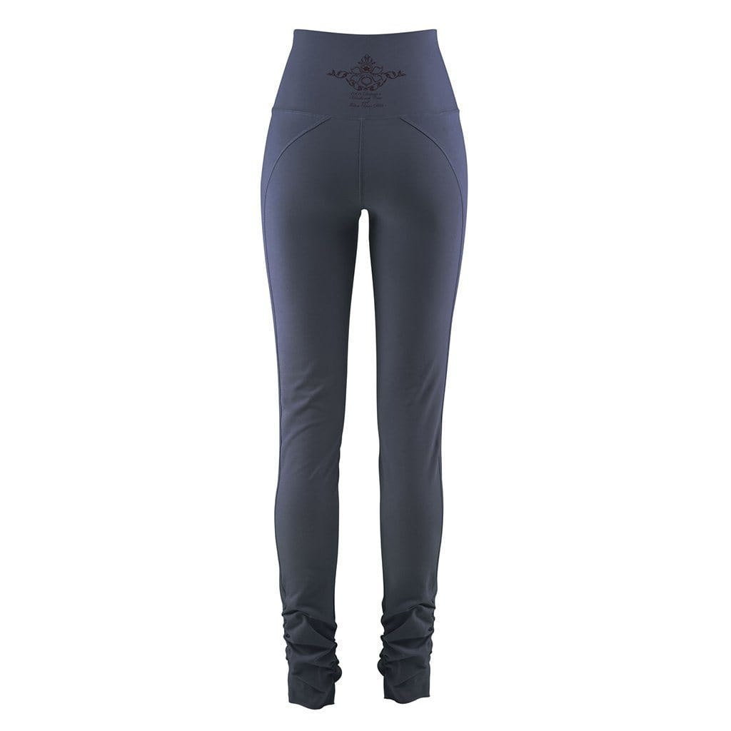 "Yoga-Leggings ""Cameron"", nightblue - Yogahose mit hohem Bund - Kamah Yoga and Style"