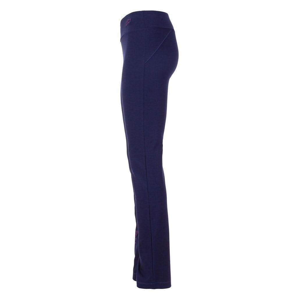 "Yoga-Pant ""Lucinda"", nightblue - Superbequeme Yogahose aus Bio Material - Kamah Yoga and Style"