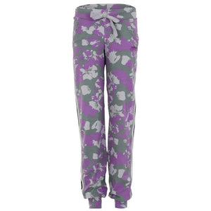 "MIRIAM - lässige Hose, Farbe: Allover Print ""Flower"" - Kamah Yoga and Style"